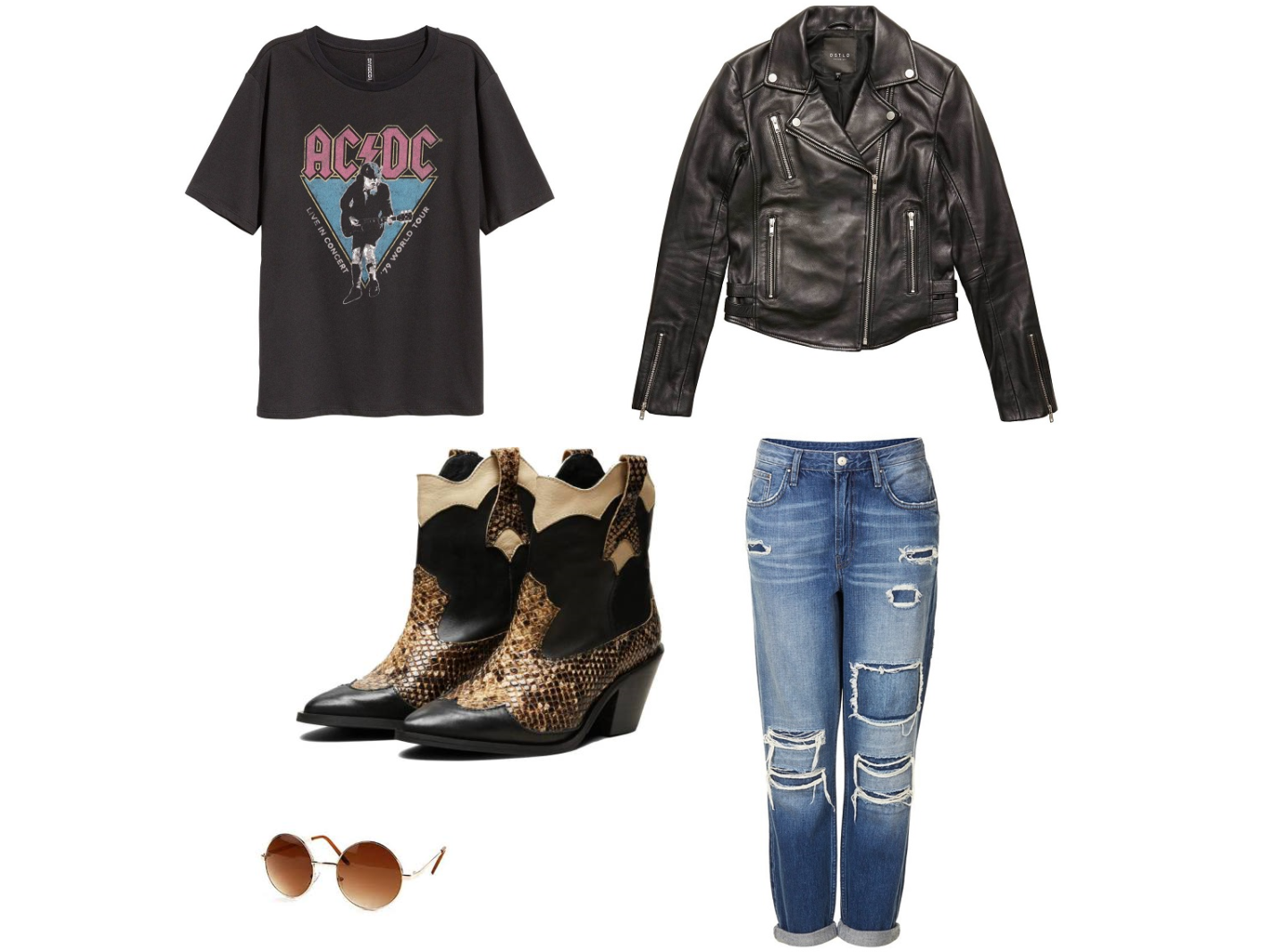 How to style cowboy boots, boyfriend look, Selected Femme
